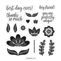 In Symmetry Photopolymer Stamp Set