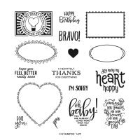Punch Party Host Photopolymer Stamp Set (English)