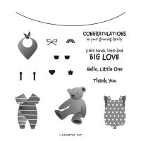 All For Baby Photopolymer Stamp Set