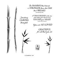 Bamboo Beauty Cling Stamp Set