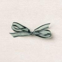 "Evening Evergreen 3/8"" (1 Cm) Open Weave Ribbon"