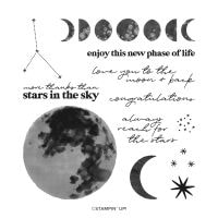 To The Moon Photopolymer Stamp Set