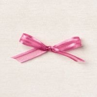 "Polished Pink 3/8"" (1 Cm) Open Weave Ribbon"