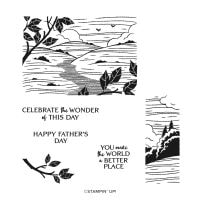 Better Places Host Cling Stamp Set