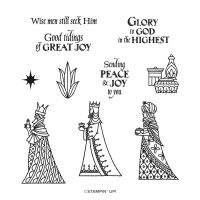 Great Tidings Cling Stamp Set