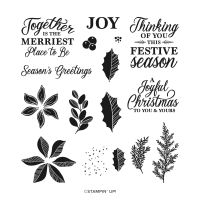 Merriest Moments Photopolymer Stamp Set (English)