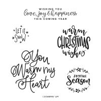 Encircled In Warmth Cling Stamp Set