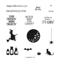 Frightfully Cute Cling Stamp Set