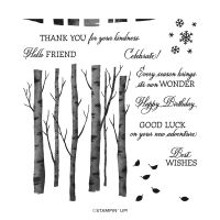 Welcoming Woods Photopolymer Stamp Set