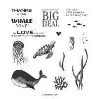 Whale Done Photopolymer Stamp Set (English)